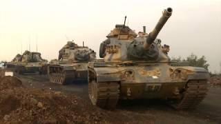 Turkey shells YPG targets in Afrin