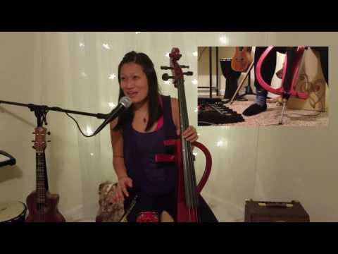 """Watch Livi play """"Cheap Thrills"""" by Sia on the Ukulele + Cello then go to https://vid.me/tZxG to learn how to play the song!"""