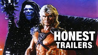 Relive the first terrible movie based on action figures! - it's Honest Trailers for Masters of the Universe (1987)  ►►Watch The Honest Trailers Commentary Tomorrow at 10 AM PDT►  Honest Trailers | Masters of the Universe Title Design by Robert Holtby Epic Voice Guy: Jon Bailey Produced by Spencer Gilbert, Dan Murrell, Joe Starr, & Max Dionne Written by Spencer Gilbert, Joe Starr, Dan Murrell, Danielle Radford & Lon Harris Edited by Kevin Williamsen  #HonestTrailers #BlockbusterSummer