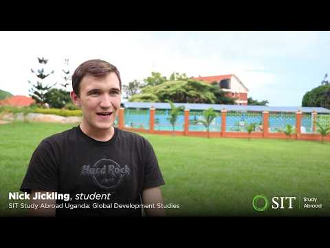 Students of the Uganda program talk about their study abroad experience