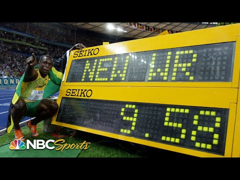 , title : 'Usain Bolt's 9.58: the night he obliterated the 100m world record | NBC Sports