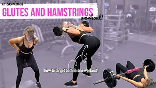 GLUTES And HAMSTRINGS Workout For Growth And Strength!