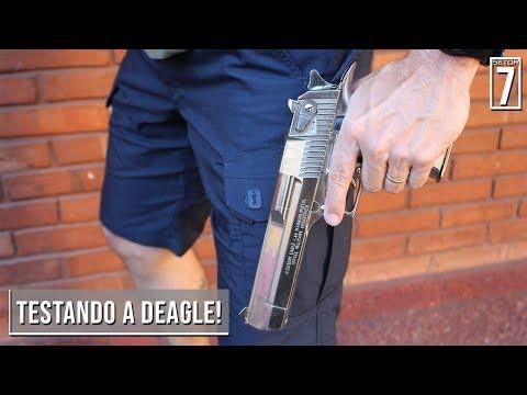 """Review da DEAGLE, a """"Águia do Deserto""""! - Setor 7 Ep.97"""