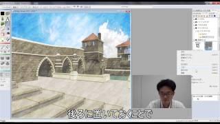 Piranesi6.2動画マルチペイントの編集方法