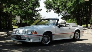 1988 Ford Mustang GT Convertible Stock # 692-DET