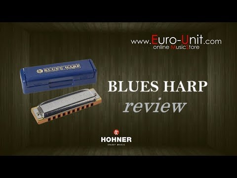 HOHNER Blues Harp harmonica (review)