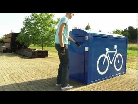 ARETUS mit Energiesäule - Fahrradständer - Orion Bausysteme (Produktvideo)
