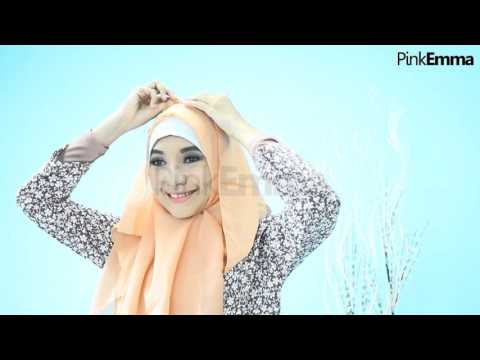Video Tutorial Hijab Segi Empat Chic Menutup Dada