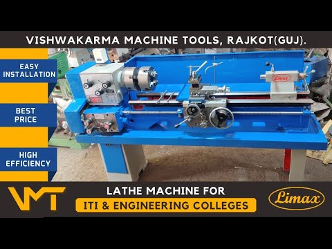 Limax 6 Feet All Gear Light Duty Lathe Machine