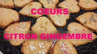 Biscuits de fêtes #4 citron