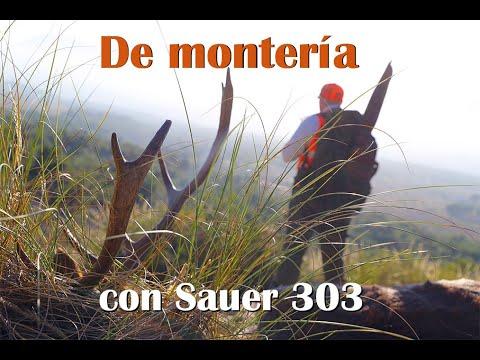 Nuevo rifle semiautomático Sauer 303: letal en esta montería