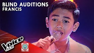 Francis Indonto - Isa Pang Araw | Blind Auditions | The Voice Kids Philippines Season 4