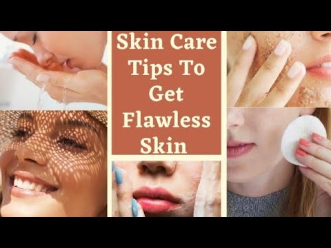 15 Best Skin Care Tips To Get Flawless Skin || Tips For Glowing Skin.