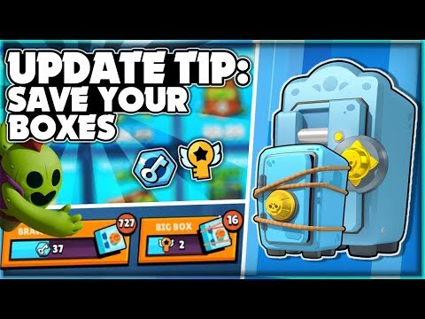 UPDATE TIP! - Preparing For New Content After Global Release! - Key Challenge! - Brawl Stars