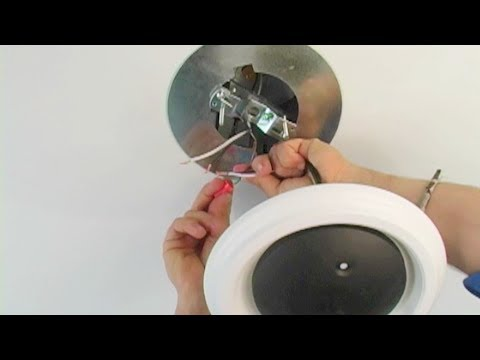 Recessed Light Converter Pendant - How to install