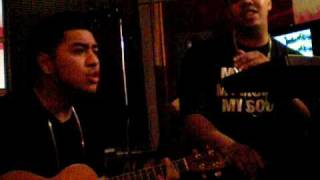 "Chris Ramos and Sonny B. CRSB ""You & I"" Acoustic World Premiere"