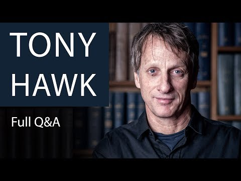 Tony Hawk | Full Q&A at The Oxford Union