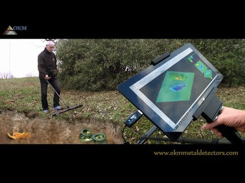 Metal Detector Future 2018, 3D Ground Scanner by OKM Germany
