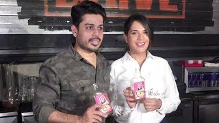 Richa Chadha At The Launch Of Bholi Punjaban Cocktail By Tru Tramm Trunk