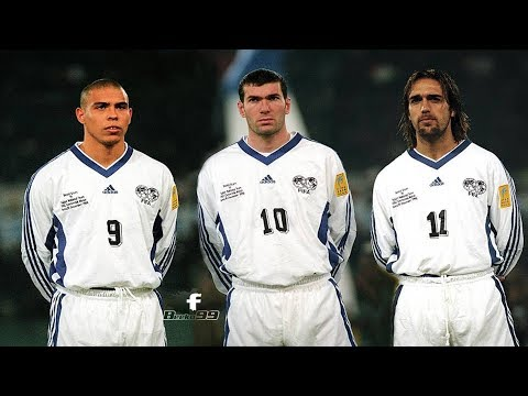 Ronaldo, Batistuta And Zidane Teaming Up vs Italy 1998 (Featuring George Weah)