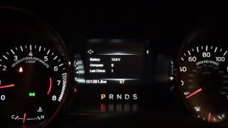 2015-2017 Mustang Easter Egg! (Digital Speedometer and Tachometer)