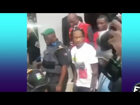 Naira Marley  pleading not Guilty today and He was released
