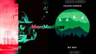 Calvin Harris, Clean Bandit & Marina - Disconnect / My Way (Mashup)