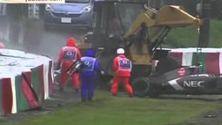 Смотреть онлайн Шокирующая авария на «Формуле-1» в Монако