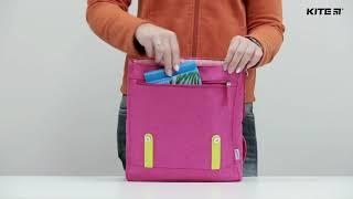 """Рюкзак детский Kite K18-546XS-1 ( 3-5 лет) от компании Интернет-магазин """"Радуга"""" - школьные рюкзаки, канцтовары, творчество - видео"""
