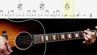 Guitar Score : She Loves You (Rhythm Guitar) - The Beatles