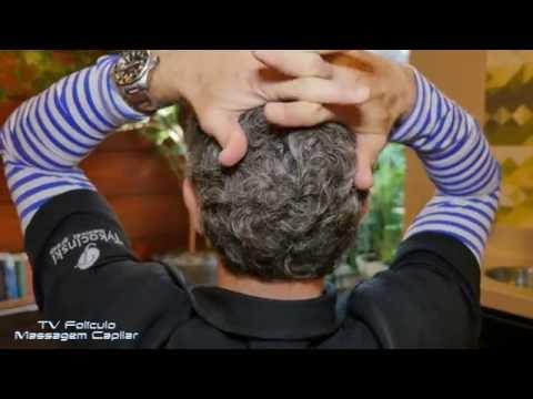 Tv Folículo: Massagem no couro cabeludo