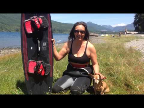 Review – BEST Admiral 2015 – kiteboard review by Laurel Eastman and Peter Pan