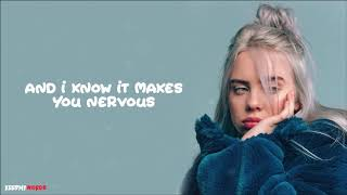 Billie Eilish   Come Out And Play ( Lyrics Video )