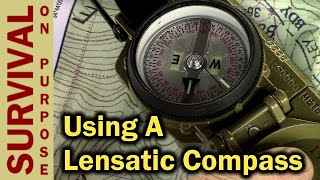 How To Use A Lensatic Compass For Beginners - Cammenga 3H