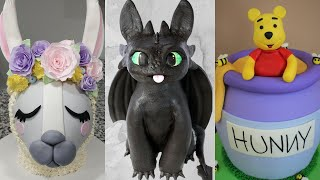 Adorable 3D Character CAKES! | Satisfying Cake Decorating Ideas 2020 | The Lovely Baker
