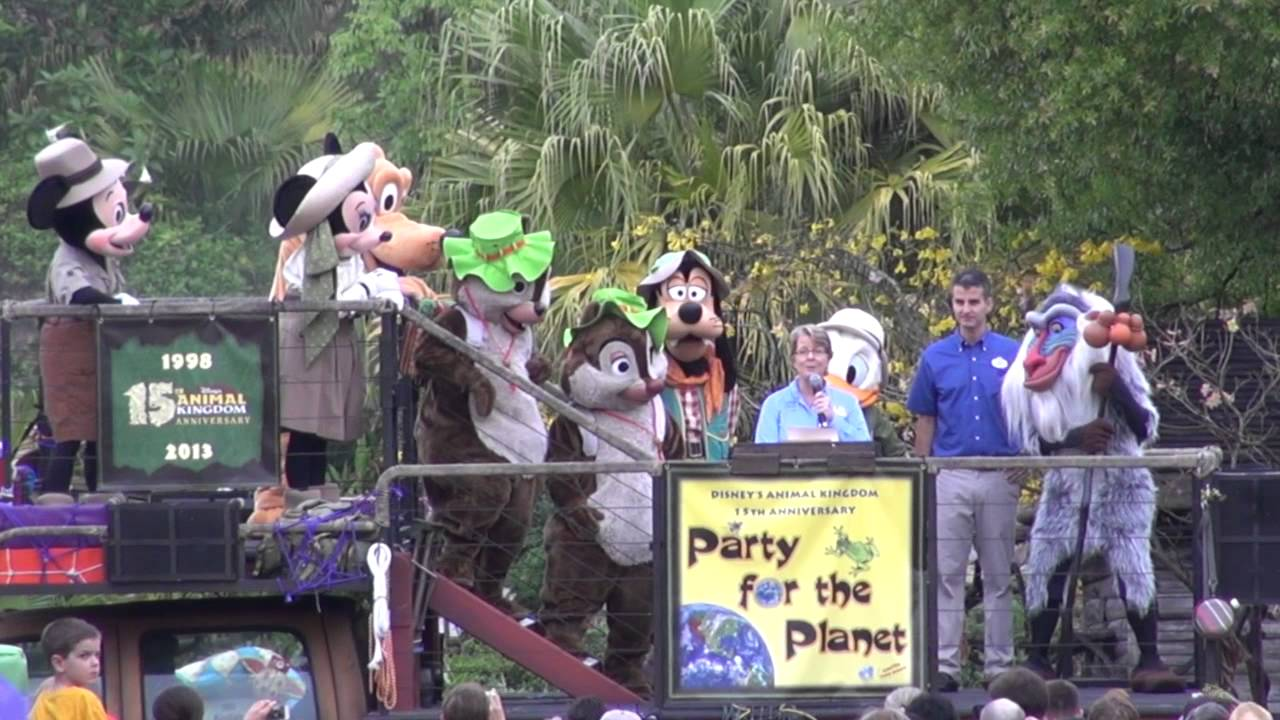 Disney's Animal Kingdom 15th Anniversary ceremony