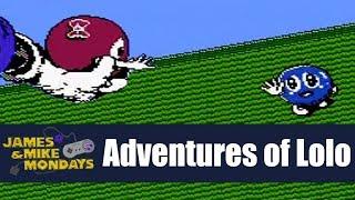 Adventures of Lolo (NES) James & Mike Mondays