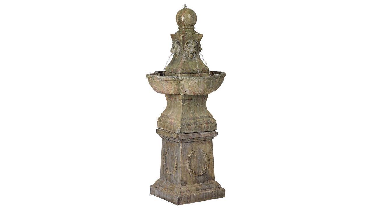 Tuscan Garden Pedestal 54 Quot High Outdoor Fountain 60920