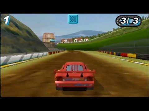 Sneak JR  - Cars 2 The Movie Game 3DS [9]  - Lightning Mcqueen VS The Germany Games