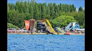 Иссык-Куль,Самый большой аквапарк Золотые Пески