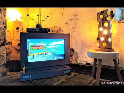 Make a TV Stand DIY Simpsons Style
