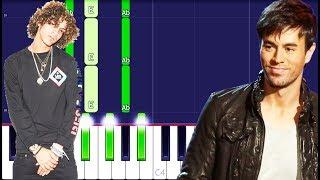 Jon Z / Enrique Iglesias - DESPUES QUE TE PERDI Piano Instrumental (For Singers)