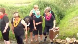 preview picture of video 'Salzbergen MissKlang Cold Water Challenge'
