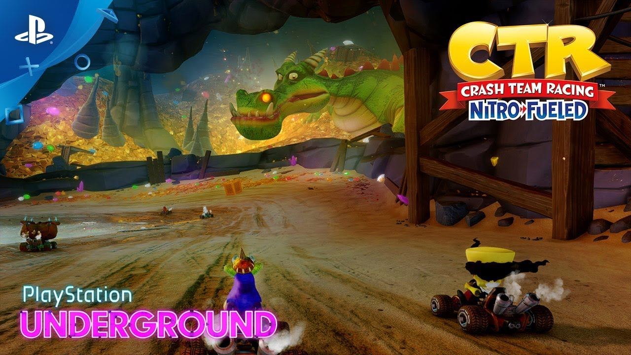 Your First Look at CTR Nitro-Fueled's Dragon Mines and Retro Stadium Tracks