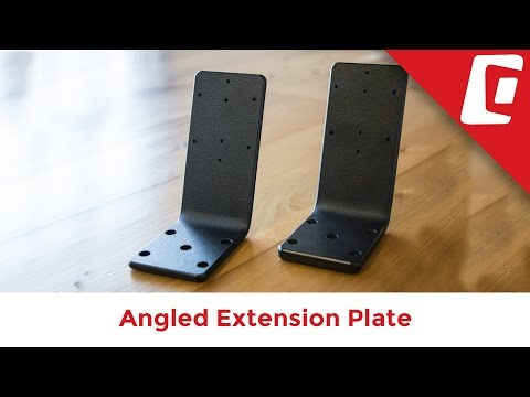 Play Video: Angled Extension Plate (Thick)