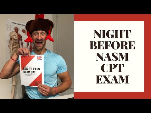 What To Study/Review the Night Before You Take the NASM CPT ...