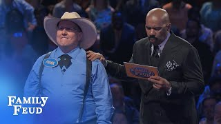 Adam IS AWESOME! | Family Feud