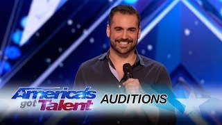 Harrison Greenbaum: Comedian Comes Out As A Comic To His Parents - America's Got Talent 2017