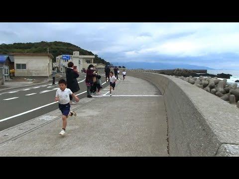 種子島の学校活動:岩岡小学校校内持久走大会2017年