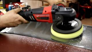 Milwaukee M18 FUEL 7 inch polisher 2738-22p - REVIEW